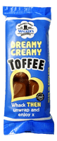 WALKERS DREAMY CREAMY TOFFEE BARS 24x50g
